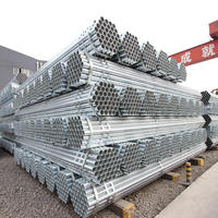 A53 galvanized pipe for green house pipe/ galvanized scaffolding pipe/ 1.5 inch galvanized steel pipes
