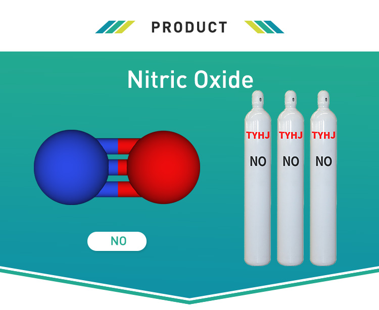 99.9%-99.99% Purity Medical Grade Nitric Oxide NO Gas price