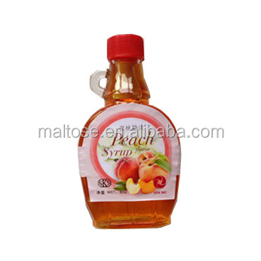 peach flavor syrup/ concentrated fruit juice for fruit drinks