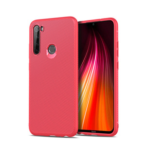 2019 Hot Selling Jazz TPU Soft to touch rubber case with design phone case For xiaomi redmi note 8