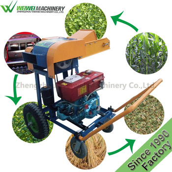 Weiwei animal feed Bignonia grandiflora straw chopper