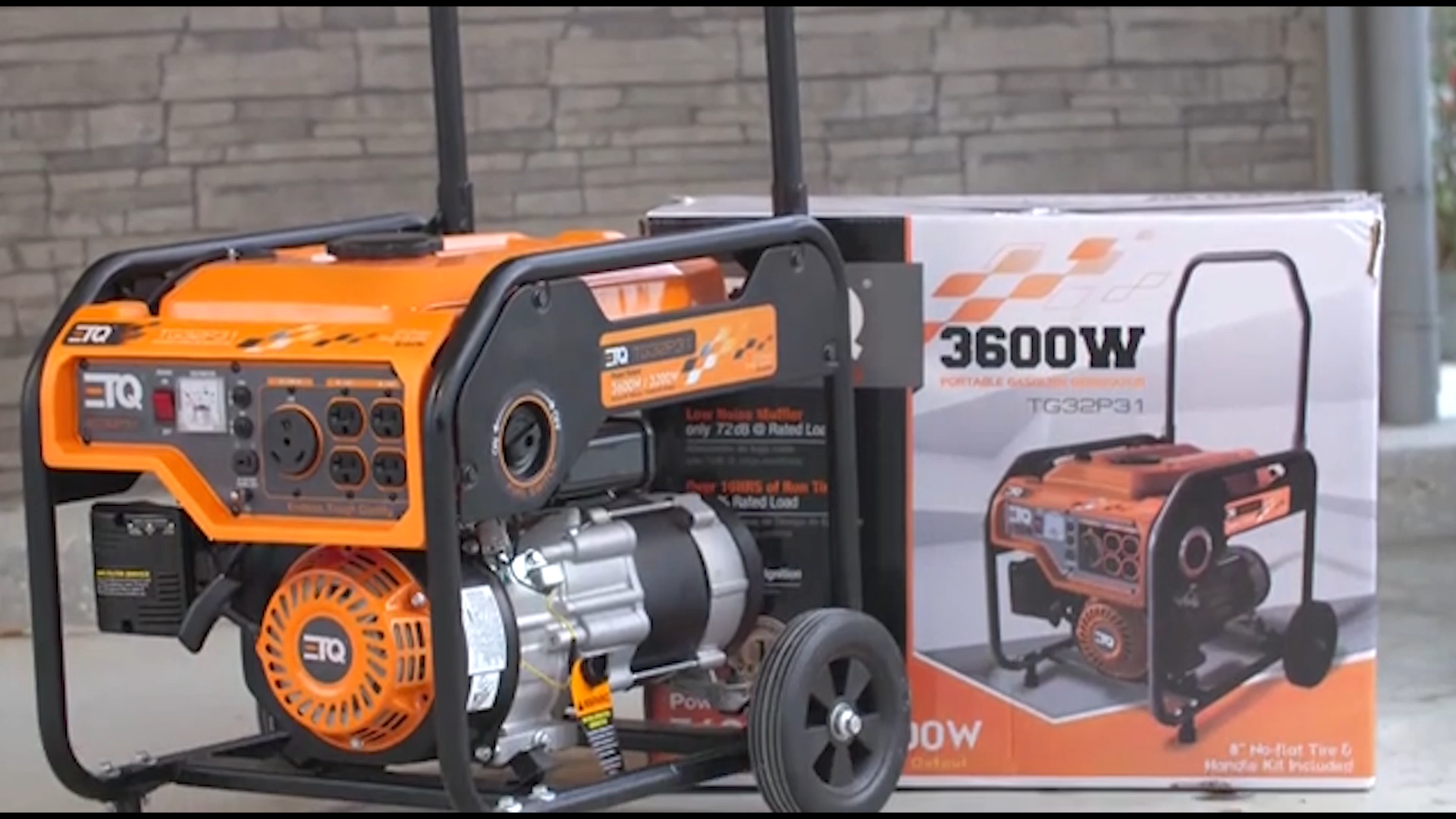 2kw 4kw 5kw 6kw Household Portable Gas Gasoline Generator