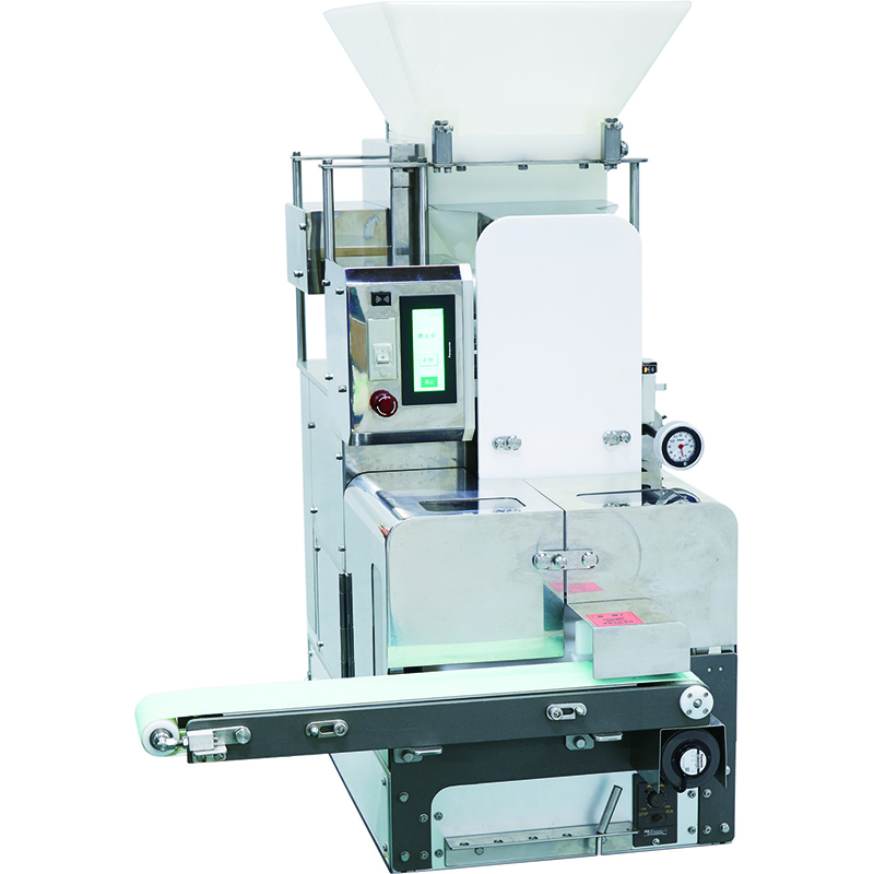 Good formability compact-size small snack food making machine