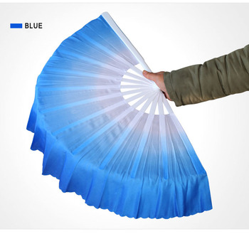 custom chinese taiji gongfu plastic foldable hand fan