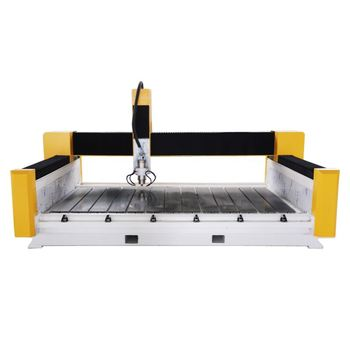 XY Axis German Helical Rack And Gear Waterjet Cutting And Engraving Machine Cnc Stone