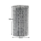 High quality home appliances active carbon cartridge pleated refrigerator air filters for EAF1CB air filter