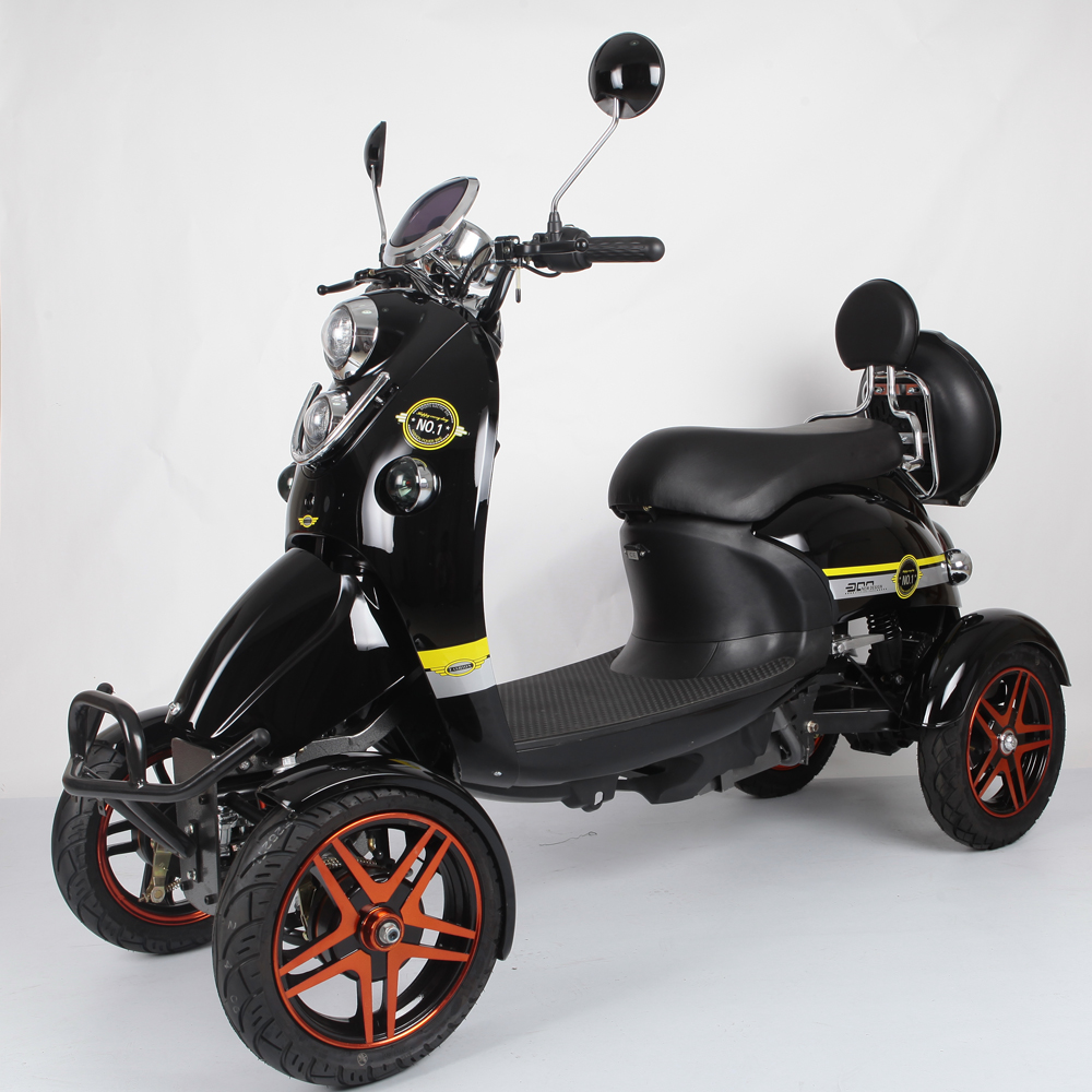 Handicappedd Scooter 4 Wheels Electric Mobility Scooter for Disabled and Seniors