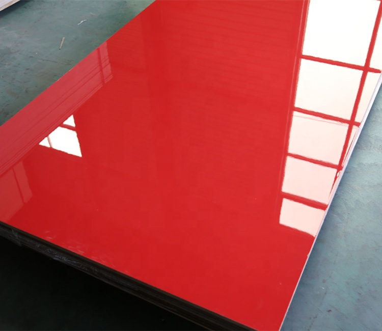 JIDA High Gloss UV Bordo Laccato MDF Bordo