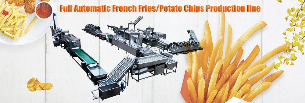 100-3000kg/h kfc snack potato french fries making machine frozen finger potato chips product line to buy good invest project