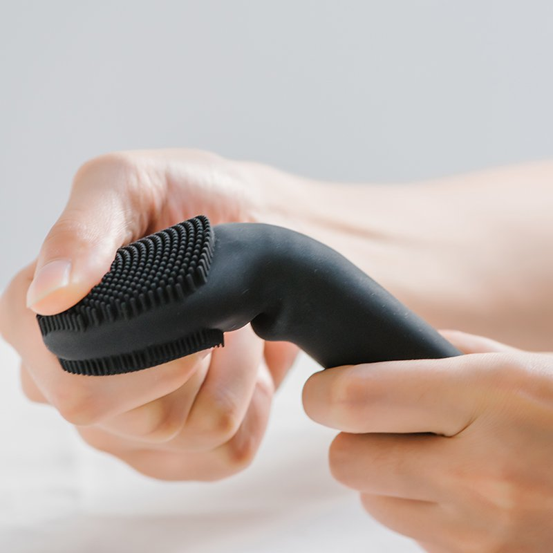 Face Cleaning Electric Massage Brush Washing Machine Waterproof Silicone Cleansing device
