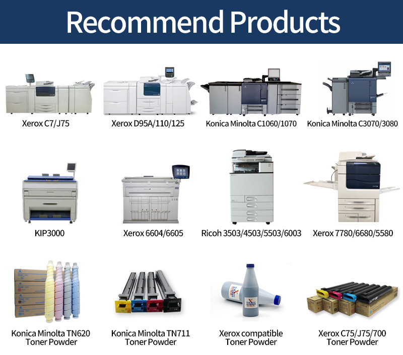 Machine d'impression Duplicateur Photocopieur Konica Minolta Bizhub Haute vitesse C1060/1070 copieur
