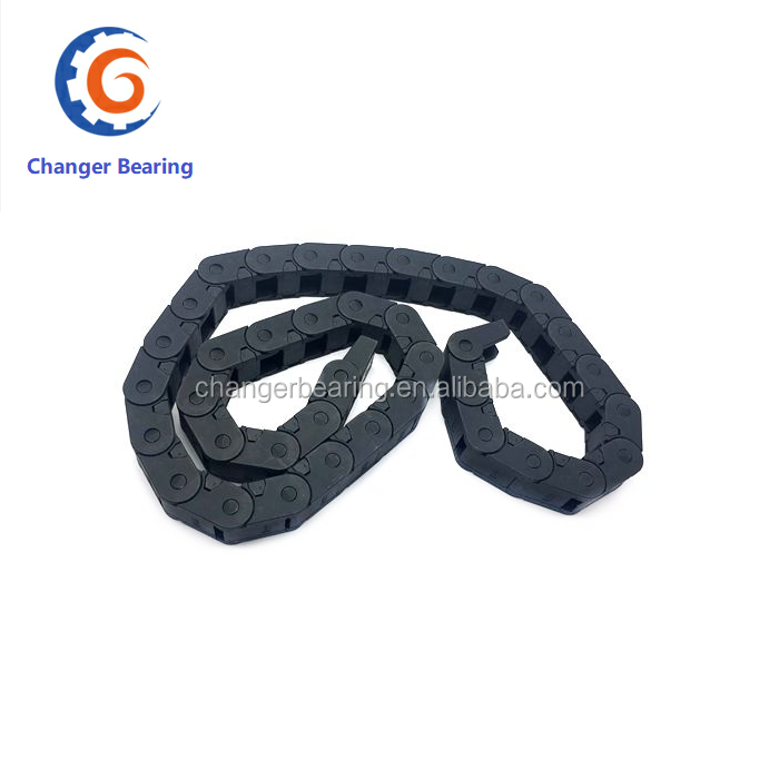Factory Transmission Chains 7/10/15/20/25 Plastic Towline Nylon Cable Drag Chain Wire Carrier For Cnc Route