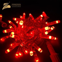 High quality outdoor ip65 rainproof 3w 6w pvc copper wire festival party led light