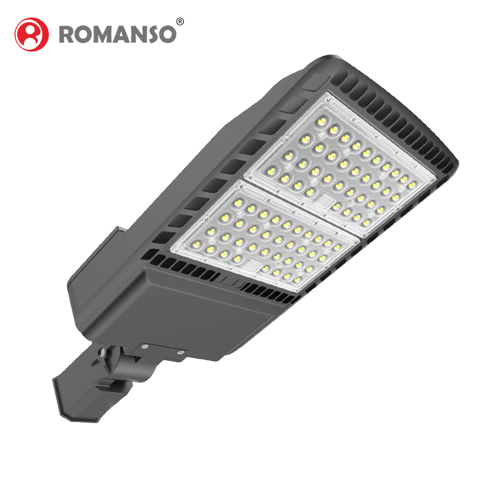 Outdoor Tahan Air Kotak Sepatu Lampu 130Lm/W 100W 150W 300W LED Street Light