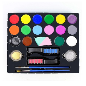 Non-Toxic Waterbased Children Kids Painting Halloween Party Face Paint Kit