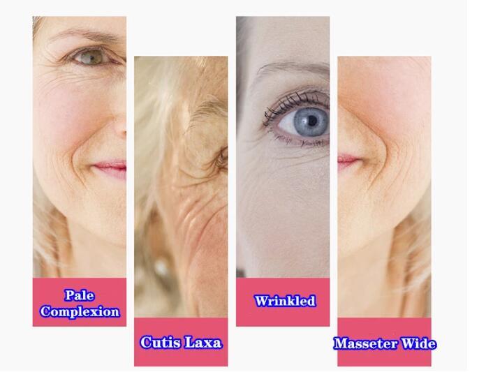 Green Quartz Gua Sha Board for Face Eye Neck Body Skin care