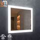 Elegant home furniture LED make up mirror with light Luxury European style with Digital clock
