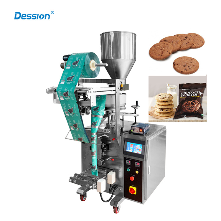 dession multifunctional mini cake biscuit sachet granule packing machine