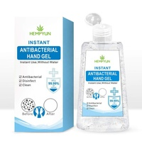 Household Disposable in stock Instant Hand Sanitizer water free Medical Hand Cleaning Gel