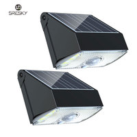 competitive price solar light security light PIR motion sensor Solar led outdoor security wall light