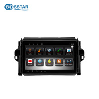 android auto audio car radio wifi dvd player with gps navigation for toyota fortuner/4 runner 2015-2017