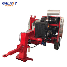 Electricity Tractor Hydraulic Cable Puller Electric Cable Pulling Winch