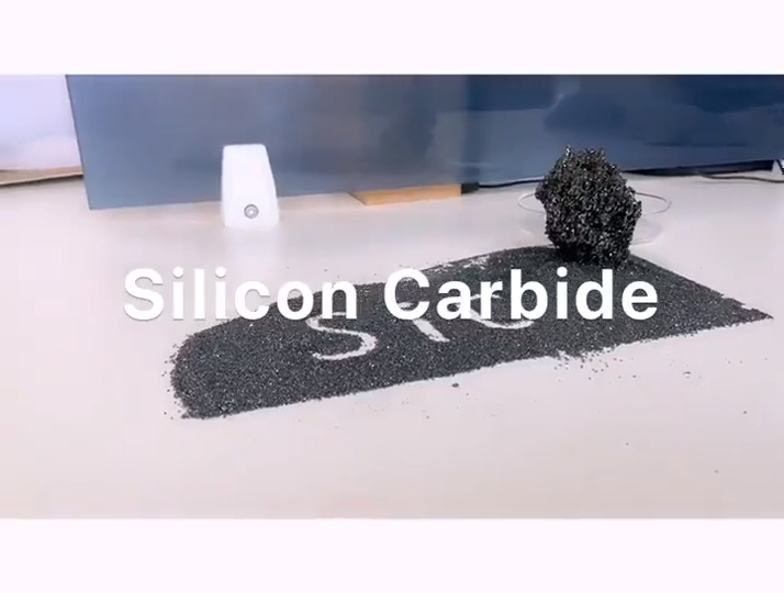 High Quality Wholesale Black Crystal Sic Silicon Carbide