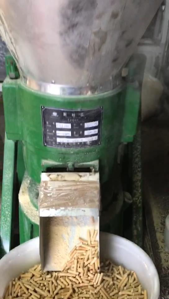 Piccolo 11kw Mulino A Pellet di Legno Macchina per Uso Domestico 50-100kg/h