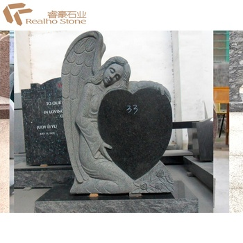 Heart Granite Tombstone