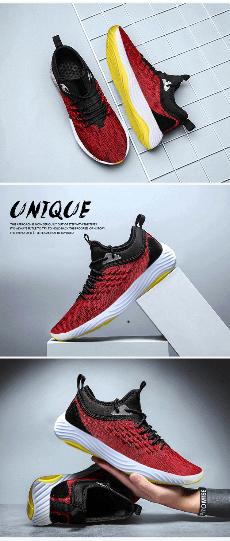 New style yong men white black red daily casual shoes outdoor running sport custom shoes