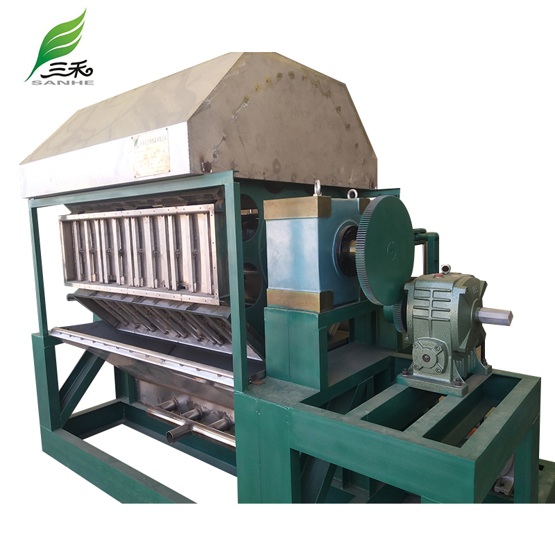 Production Line Pulp Tray Machine Egg pulp Boxes Machine Machine