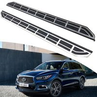 KINGCHER HIGH QUALITY Running Board Fit FOR Infiniti QX60 2013+ Universal Side Step