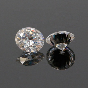 100pcs/bag Synthetic CZ Stones Price Round Brilliant Diamonds Cut Cubic Zirconia