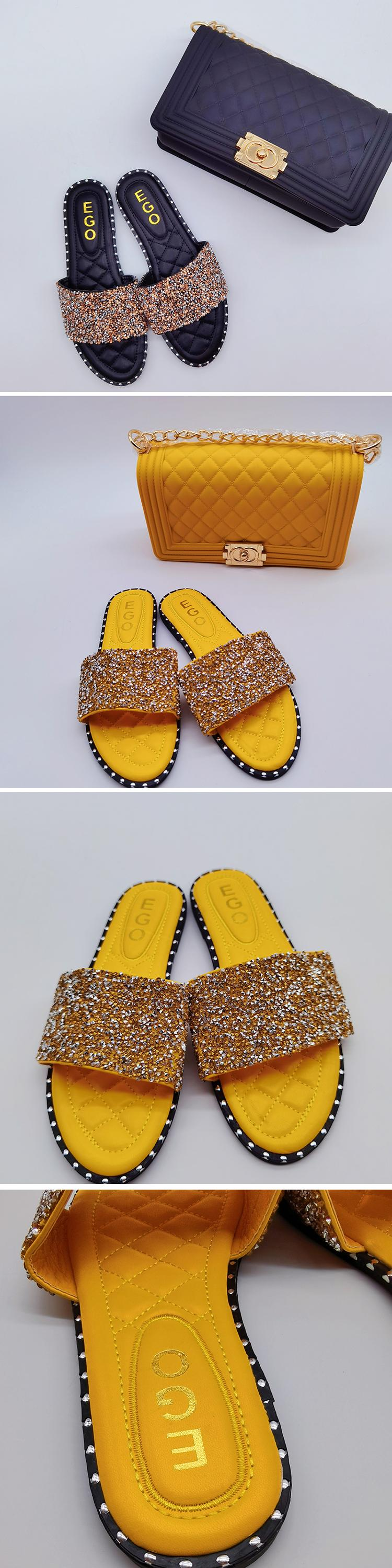 Lady Shoes Pu Sole Latest Plastic Sandal Jelly Flat Flower Footwear Pcu Shoe Beach Slipper For Woman