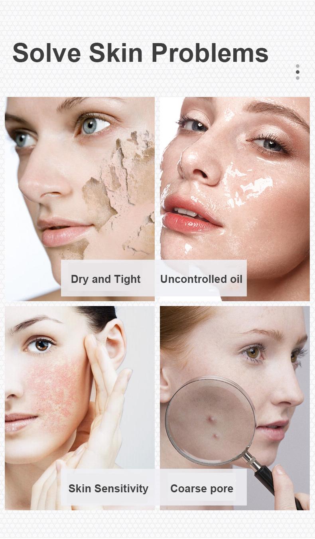 Wholesale Bulk Private Label OEM Facial Whitening Exfoliating Foaming Skincare Deep Cleansing Washing Skin Face Gel Cleanser