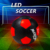 wholesale led glow in the dark soccer training match official size 5 football led light up football
