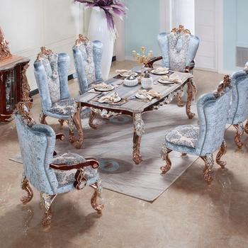 Aas7301-antique Bois Sculpté Meubles De Suite Baroque Chaise Haute Salle À  Manger Baroque - Buy Salle À Manger Baroque,Chaise Baroque À Dossier ...