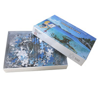 Custom Photo Personalized Puzzle 500 Pieces in box