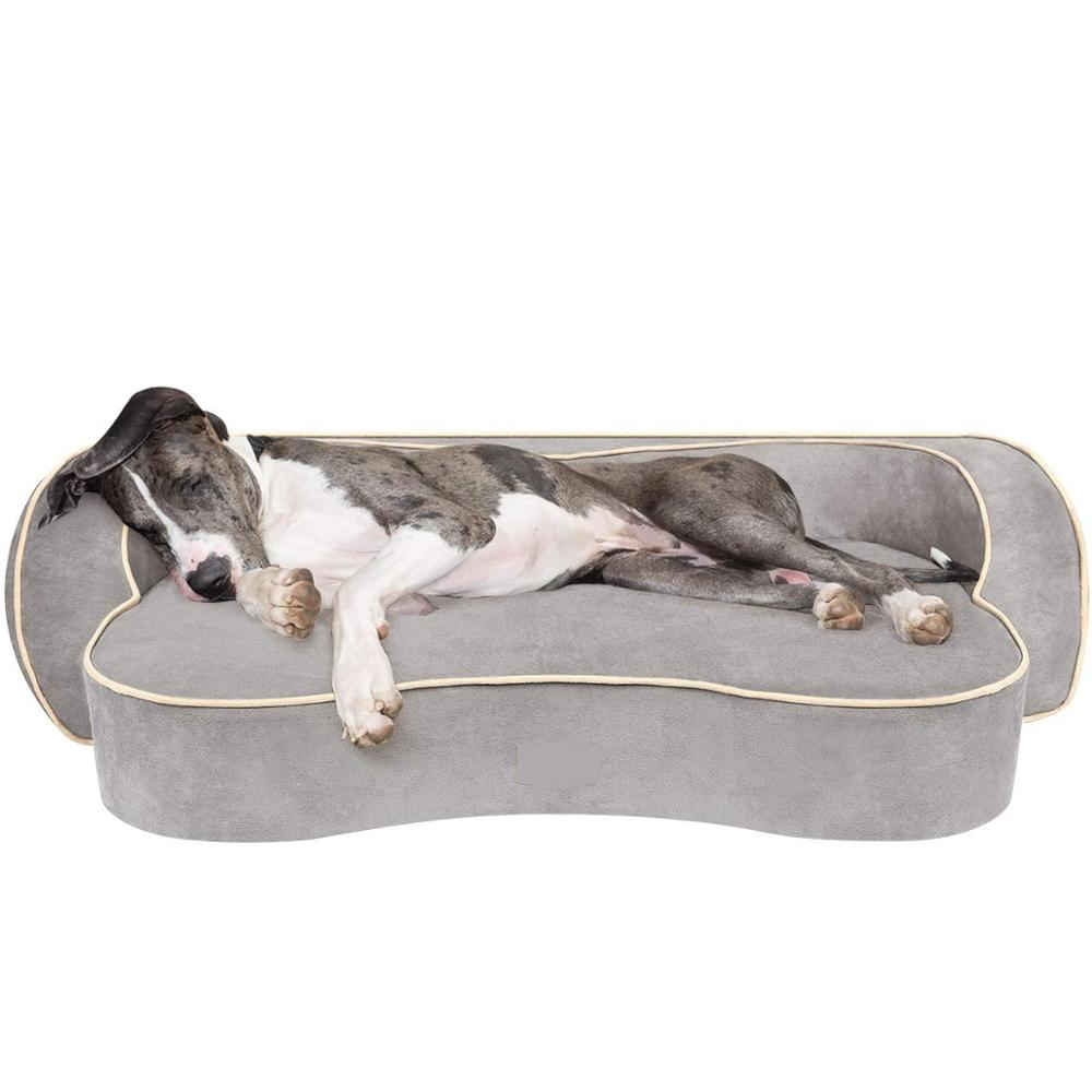 Dog <strong>bed</strong>, corrected memory foam pet <strong>bed</strong>, with washable bedspread and waterproof liner <strong>edge</strong> cushion sofa