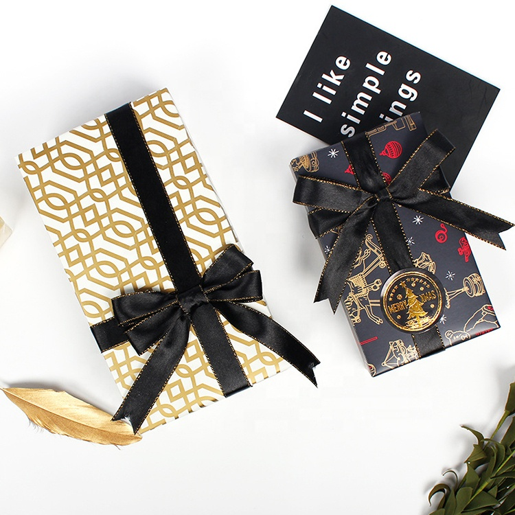 2020 new <strong>custom</strong> logo <strong>printed</strong> gold clothing recycled gift packaging <strong>tissue</strong> wrapping <strong>paper</strong> with wholesale cost