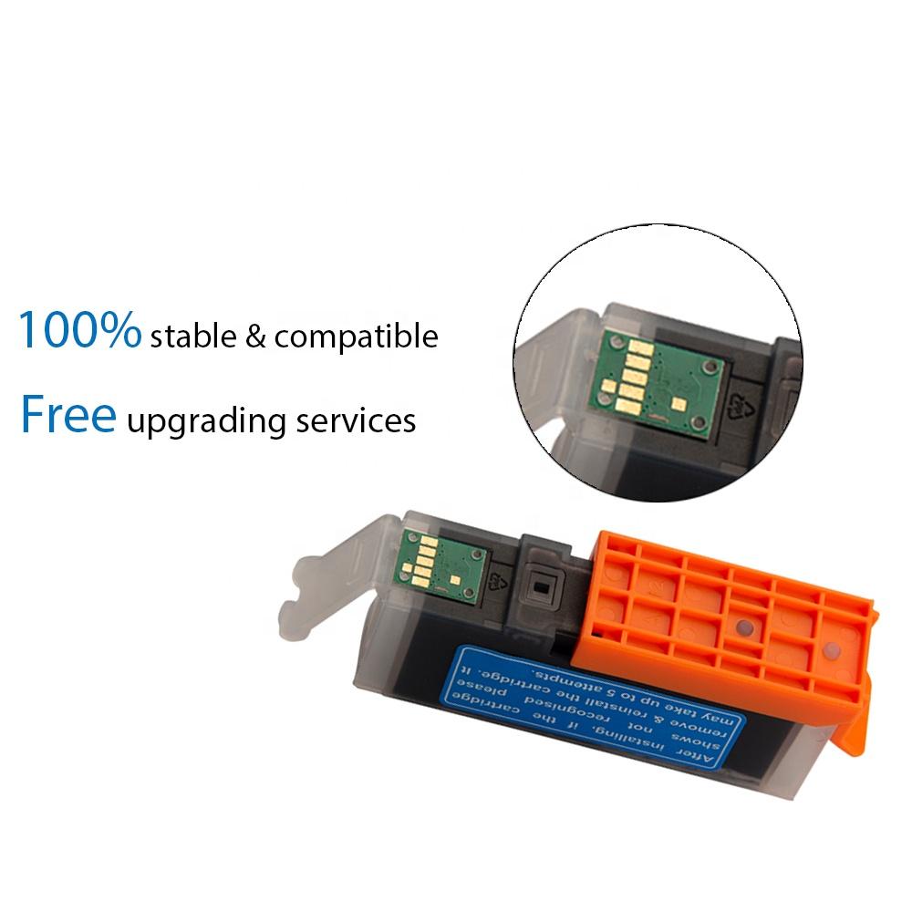 INK-TANQUE 564 XL 564XL Premium Cor Cartucho de Tinta Compatível para HP Photosmart 7520 Impressoras