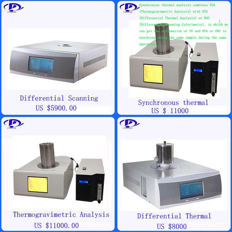 Papier d'aluminium de conductivité thermique instrument de mesure analyseur de mesure