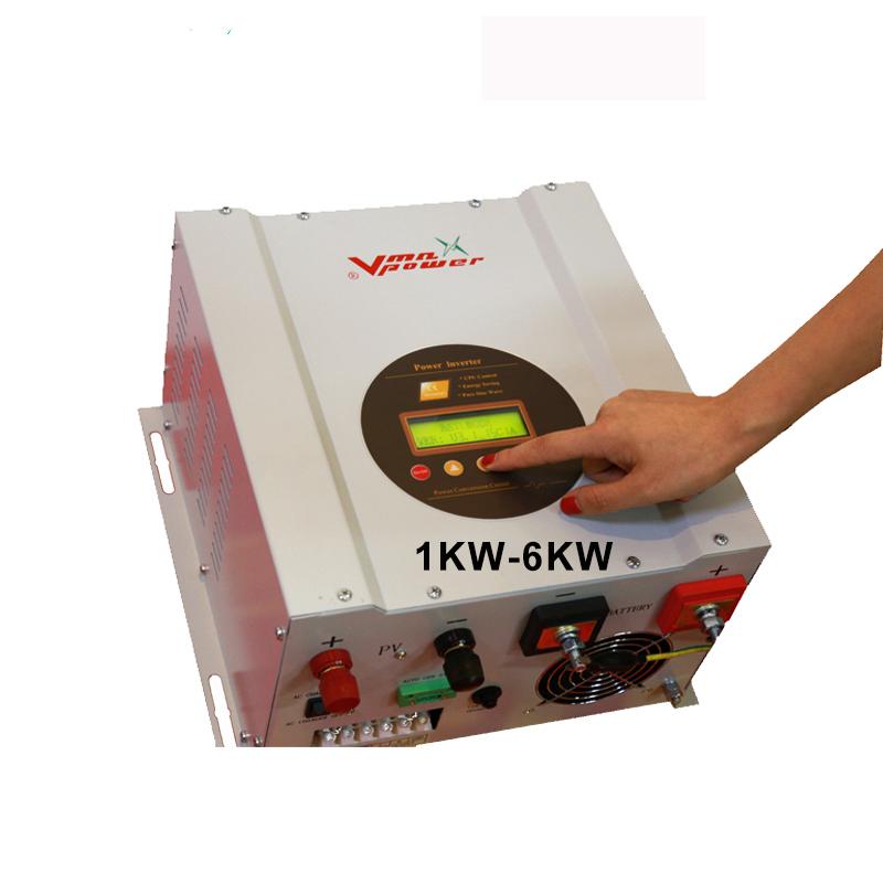 Vmaxpower 5000W 48V DC para AC Solar de Baixo frequncy/Grid Híbrido Inversor com Carregador e Carregador de MPPT Solar controlador de carga