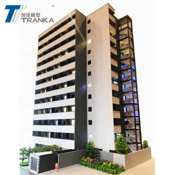 High quality residential building model , architectural apartment model