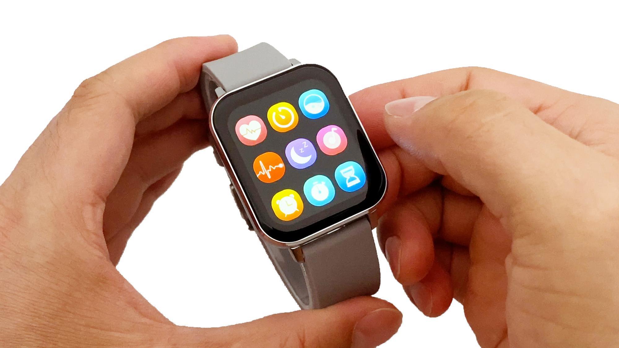 New Arrivals DTX Smart Watch Big Screen IPS 1.78 Inch IP68 ECG Heart Rate SmartWatch With Multi-Sports Blood Pressure Oxygen