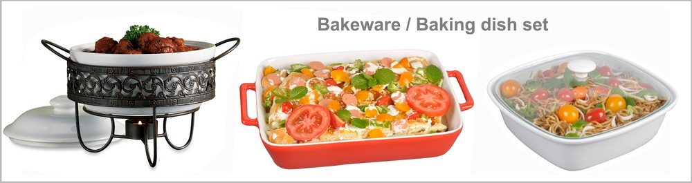 2020 Red Ceramic Baking Dish