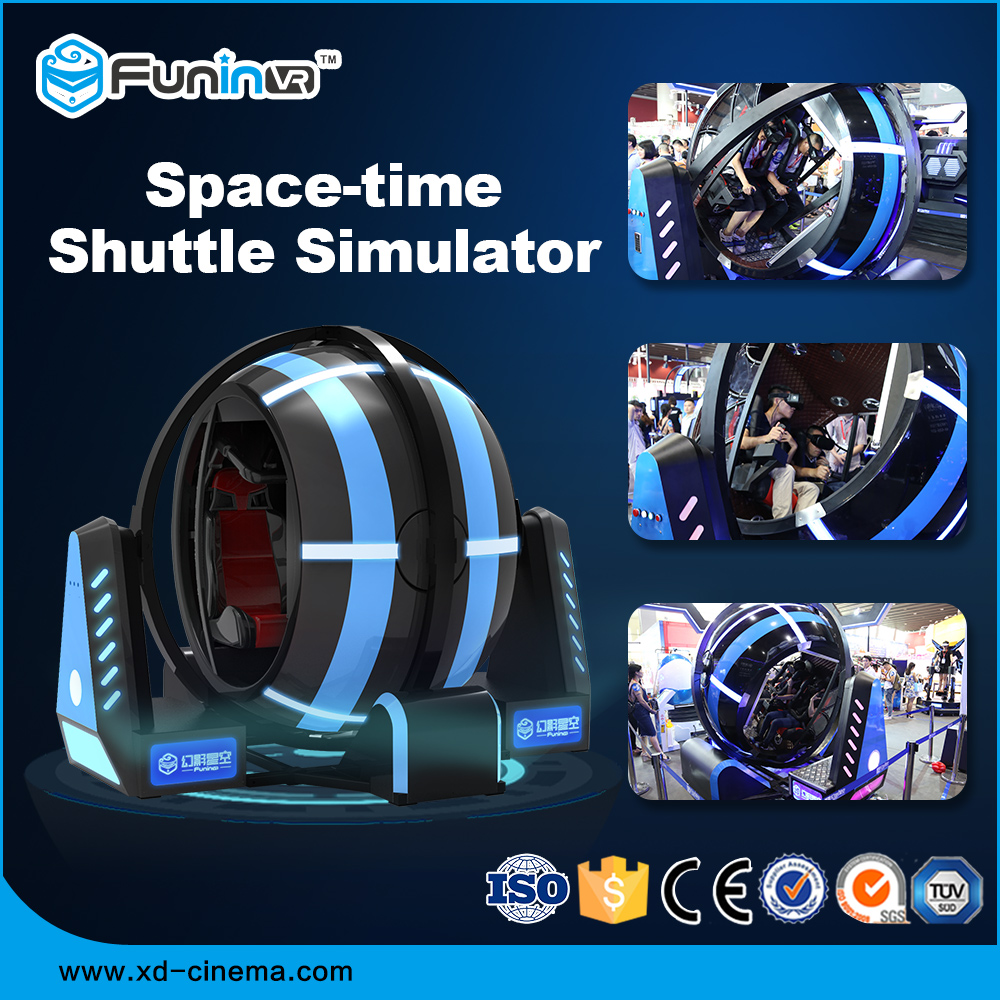 Funin VR Amusement Park Interactive Virtual Reality 360 View Rotating Game 9D VR 360 Flight Simulator Chair Flight