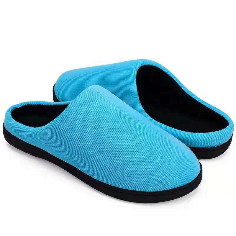 Goede Kwaliteit Wholesale Fashion Fine Geheugen Spons Foam Indoor Home Winter mannen Slipper