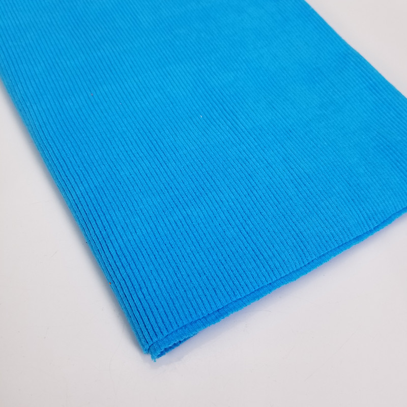 2*2 cotton ribbed knitted Rib Trim for clothing accessories