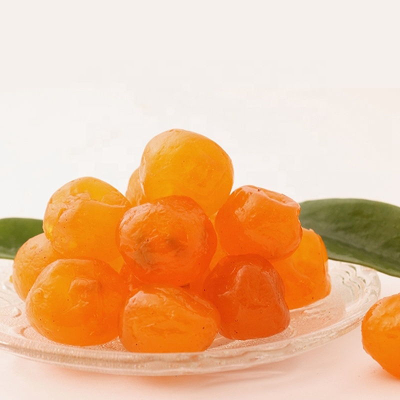 Hot Sale Candied Preserved Dried Kumquat With Sugar Powder Wholesale Cheaper